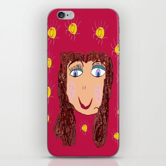 FUNKY MEDOUSA iPhone & iPod Skin