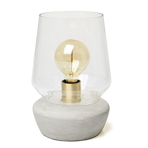 Aeron Glass Table Lamp Clear