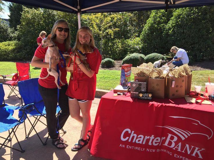 CharterBank Pet Adoption Day at their Carrollton location