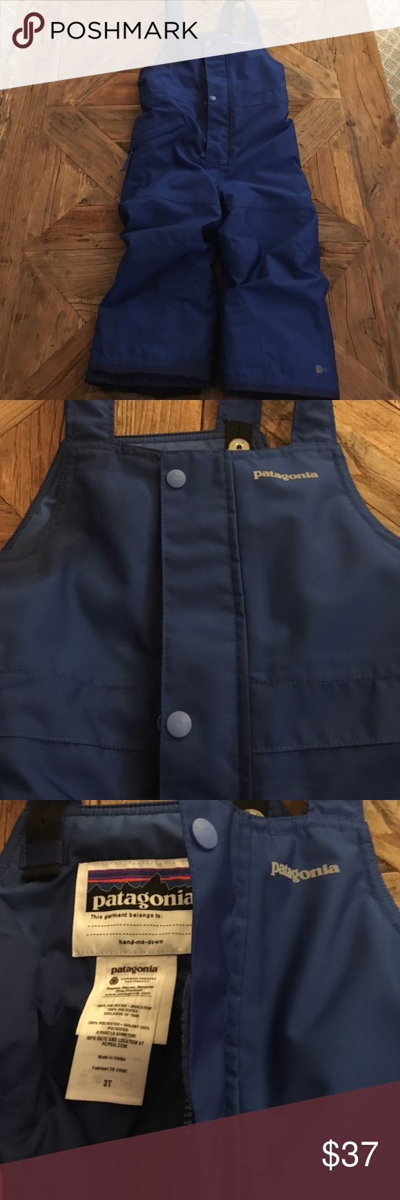 """Patagonia """"Snow Pile"""" bib snow pants. Perfect condition! Only worn 3 times. Highest quality snow pants you can find! Patagonia Jackets & Coats"""