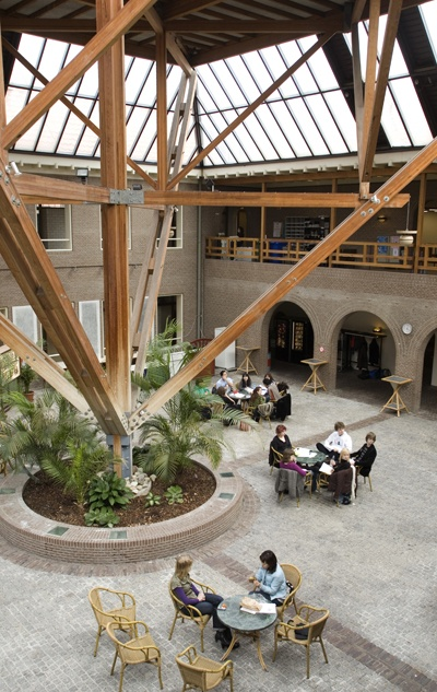 Arsenaal building (the old arsenal) houses Leiden University's Asian Studies.