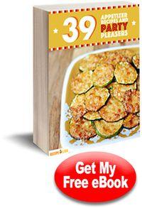 39 Appetizer Recipes and Party Pleasers Free eCookbook | RecipeLion.com