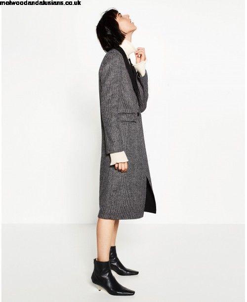 Imagini pentru ZARA gray handmade long coat