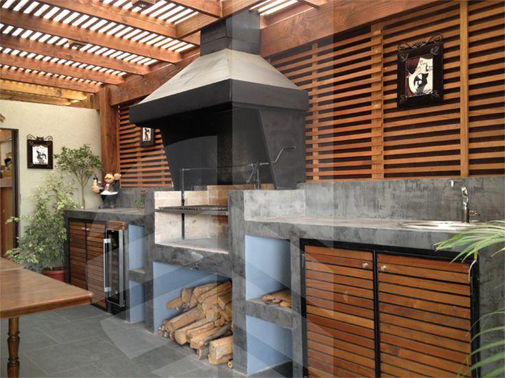 Decoracion Quinchos Modernos ~   quincho y terraza quincho de muebles quincho quincho moderno