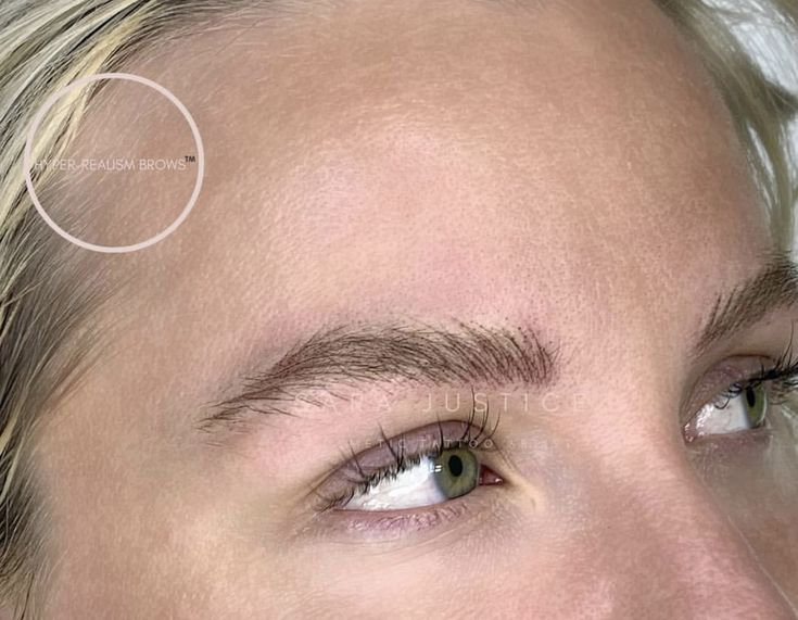 3D Eyebrow Tattoo in Fulton County, GA | Sara Justice | in ...