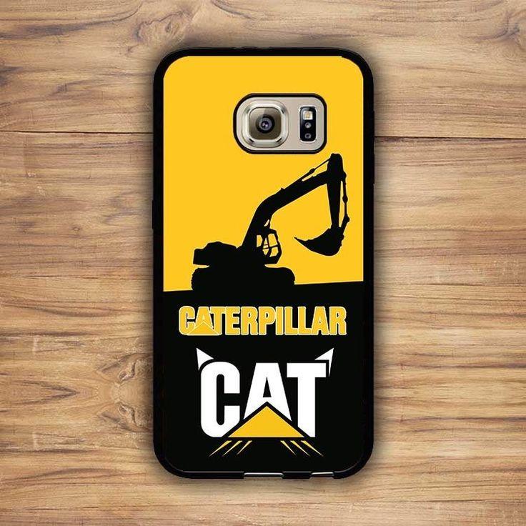 Caterpillar Cat Yellow Logo Custom for Samsung S6 & S7 Series Print On Cases #UnbrandedGeneric