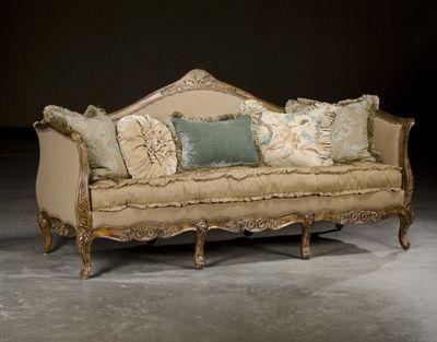 Paul Robert Furniture 581 French Style Sofa