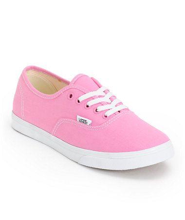 Vans Girls Authentic Lo Pro Rosebloom Pink & True White