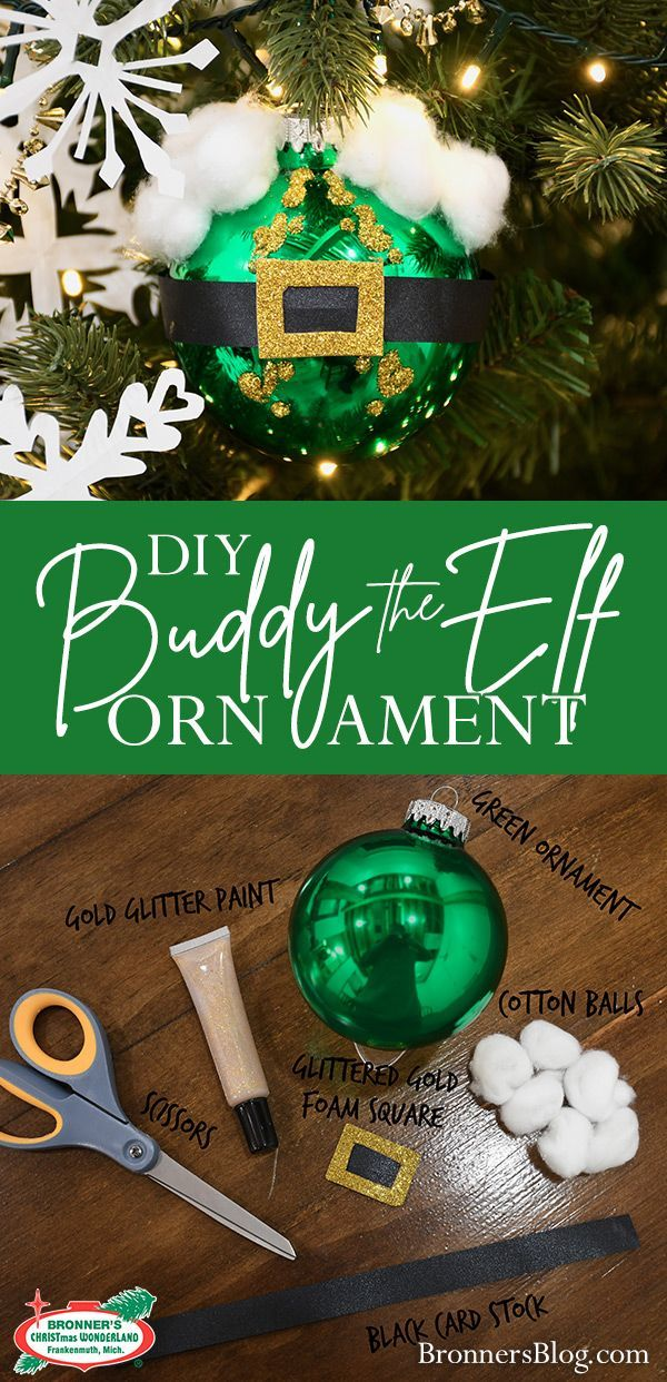 Famous Christmas Character DIY Ornaments - | Elf crafts ...