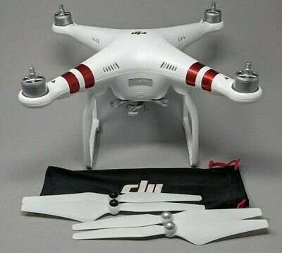 Dji Phantom 3 Standard Quadcopter Only Plus Props Awesome In 2020 Drone Camera Dji Phantom Quadcoper