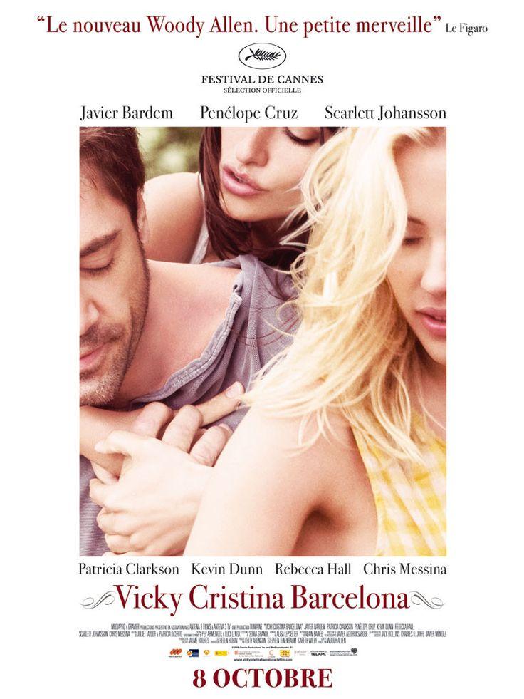 """2008 - Vicky et Cristina sont deux amies. Vicky  femme de raison est fiancée ; Cristina créature d'instincts est dénuée d'inhibitions et à la recherche de nouvelles expériences. Elles sont invitées à Barcelone chez  Judy et Mark. Vicky y passe ses derniers mois de célibat; Cristina qui  se remet de sa  dernière rupture  """"flashe"""" pour le peintre Juan Antonio. Il leur propose un week-end à Oviedo, pour visiter, boire et faire l'amour. Cristina persuade Vicky  de tenter l'aventure."""