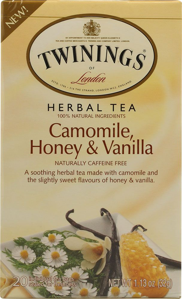 Twinings Herbal Tea Chamomile Honey and Vanilla.  If anyone could find this I'd be forever grateful
