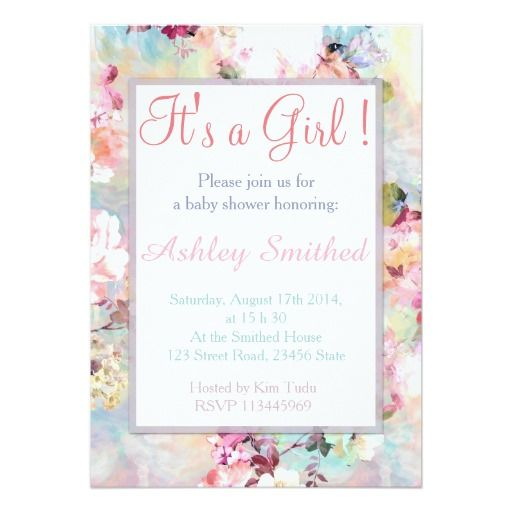 271 best elegant baby shower invitations images on pinterest, Baby shower invitations