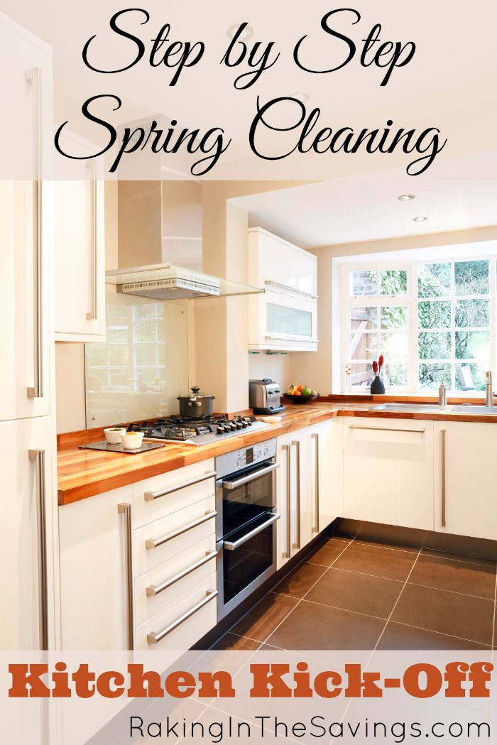 Deep clean your kitchen with this free step by step for Deep clean kitchen