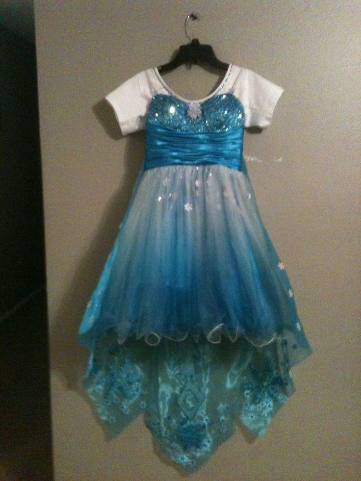 My Jeweliana's (Elsa) Costume