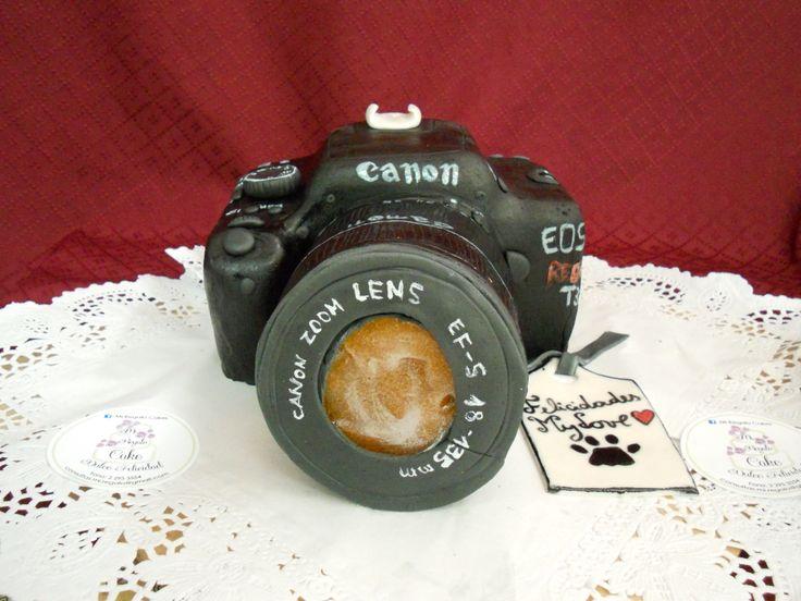 Camara Fotografica en Cakes