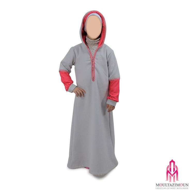 Djellaba Wardi girl - Al Moultazimoun #Boutique #muslim #kids - #girl - #jilbab…