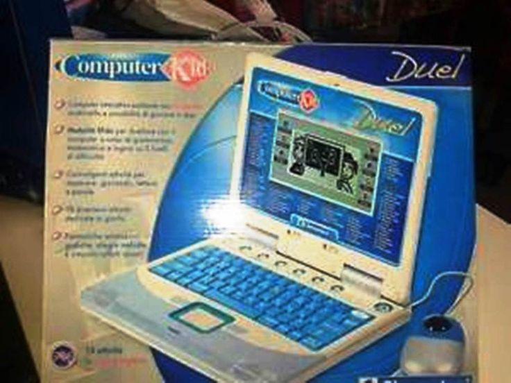 DUEL COMPIUTER KID- ideale per bambini interattivo vintage