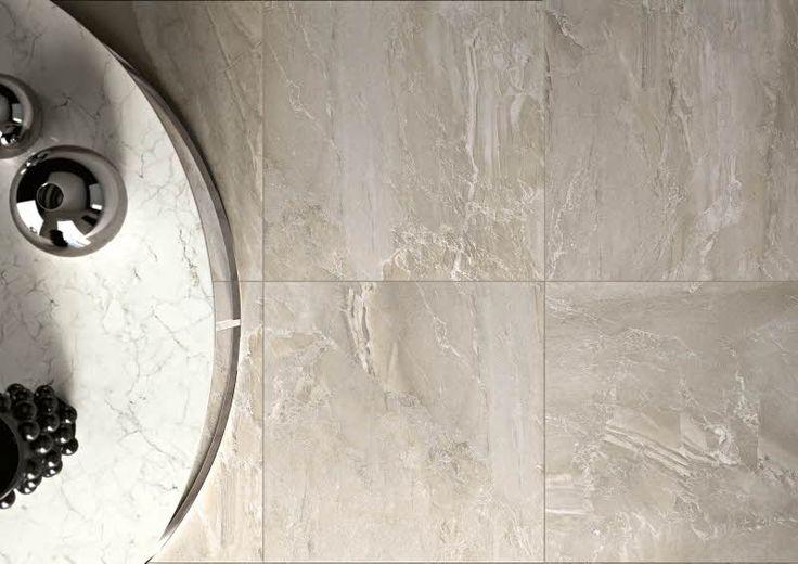 Kiiltävä marmori on pintamateriaalien aatelia. Royale lattialaatta 60 x 60 cm. Värisilmä, http://kauppa.varisilma.fi/laatat/seinalaatat/royale/ #marmori