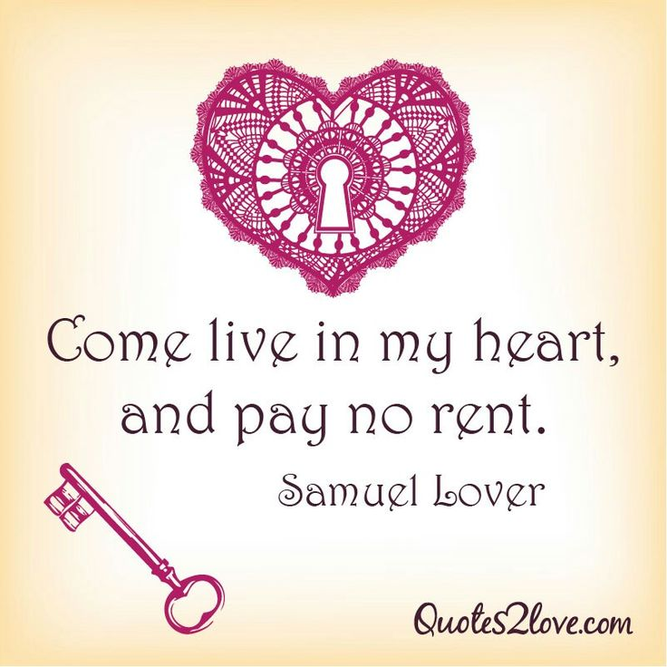 Live in my heart...