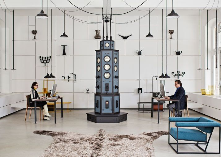 Seriously Playful: The New Showroom Of Roderick Vos Studio In Den Bosch, The Netherlands | Yatzer