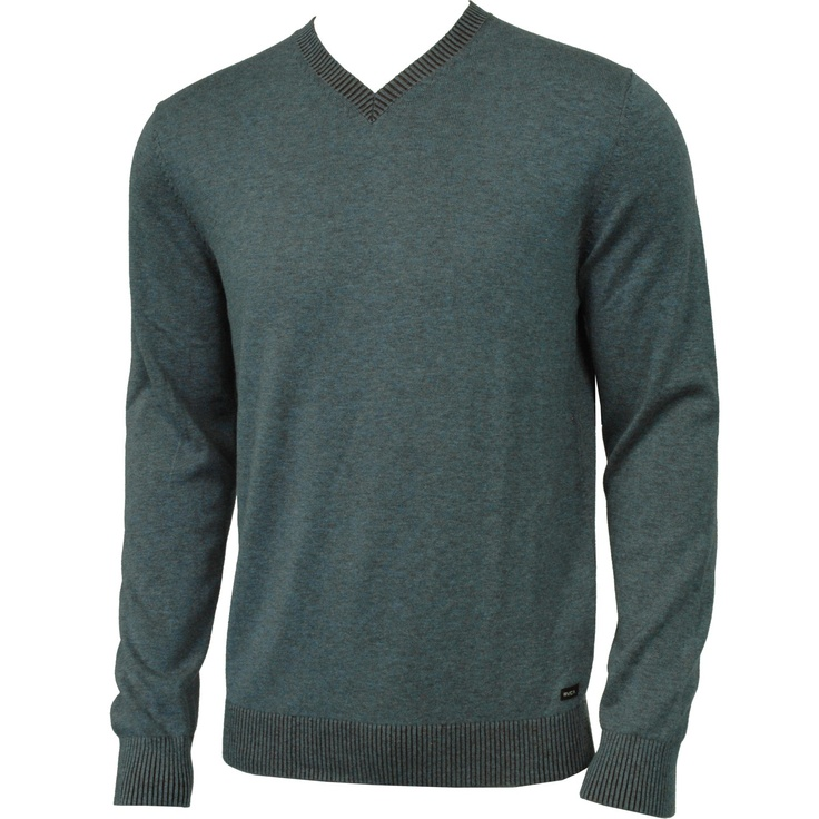 RVCA Mens Sweater Plate Bourgeois Blue