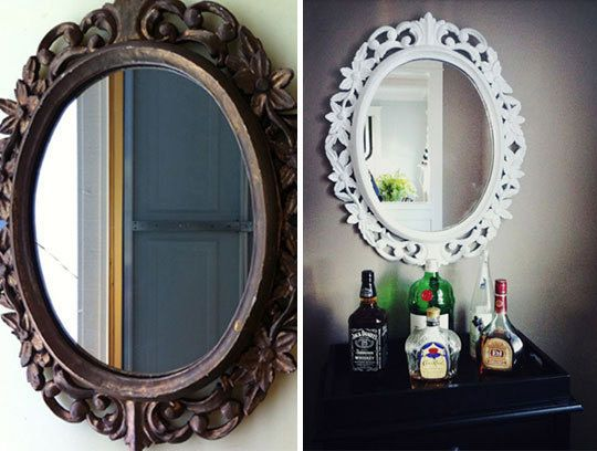 1000 Ideas About Mirror Border On Pinterest: 1000+ Ideas About Painted Mirror Frames On Pinterest