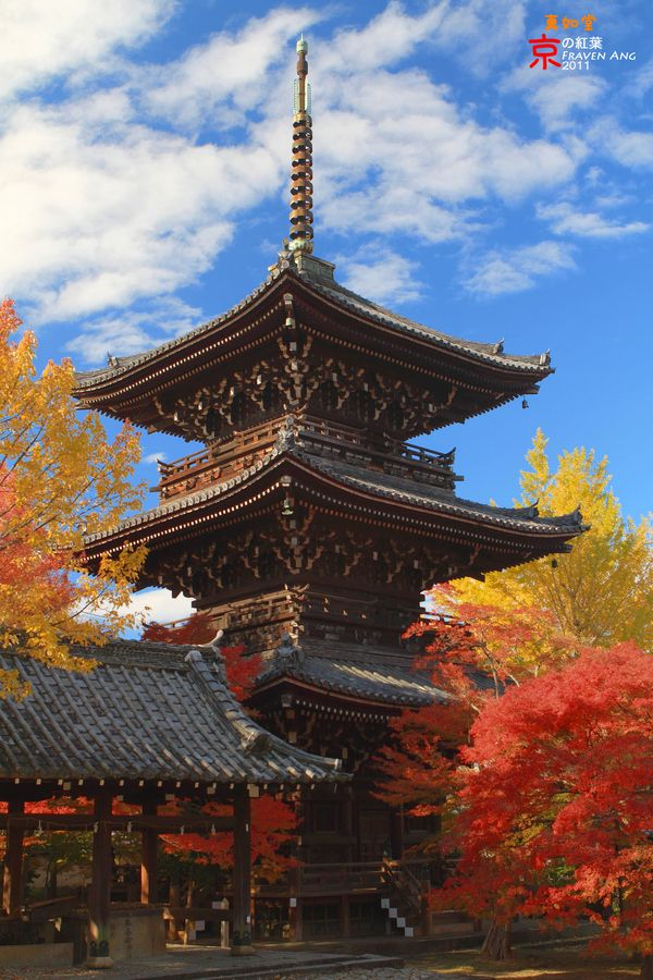 Kyoto-Japan A beautiful place in the Autumn