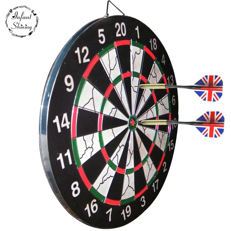 New Darts Dartboard Professional Game with a 18 inch Disc Set Home Fitness Equipment Hot Sale