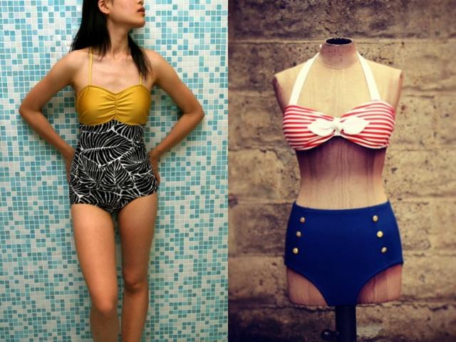 Plus+Size+Swim+Skirt+Long