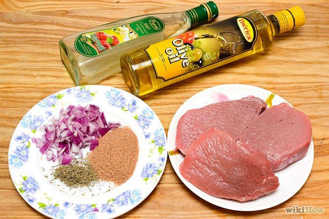 Marinate a Steak