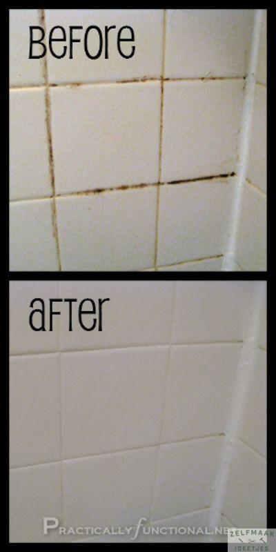 Last van vieze voegen in de badkamer? Zo los je dit makkelijk op!