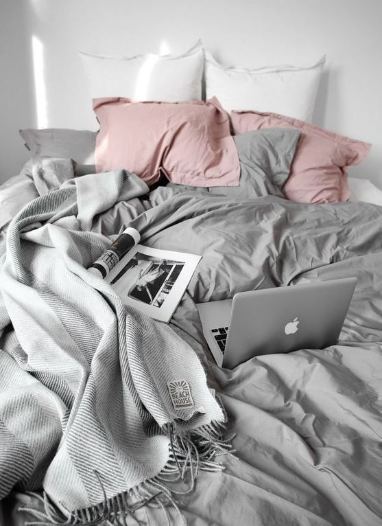 Linen sheets are great ways to make your bedroom cozy!