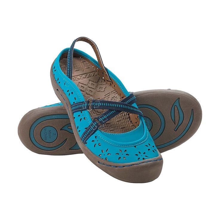 Legendary Whitetails Ladies Wildflower Slip On Trail Shoes River 8. Muk Luks® trail shoes. Breathable perforated wildflower pattern uppers. Comfortable elastic straps. Soft molded insoles and well stitched rubber outsoles with toe guard. Elastic front straps.