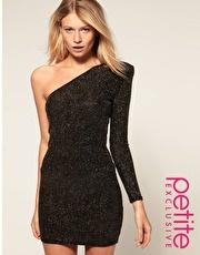 one shoulder lovin: Minis Dresses, Maxi Dresses, Glitter Dresses, Formal Dresses, Dresses Swimsuits, Latest Dresses, Asos Dresses, Shoulder Glitter, Aces Petite