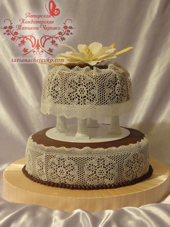 Свадебный торт на заказ орехово-зуево-зуево