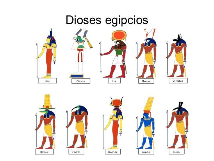 Dioses egipcios by alnugar via slideshare