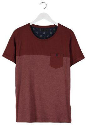 PETE - T-shirt basic - marrone