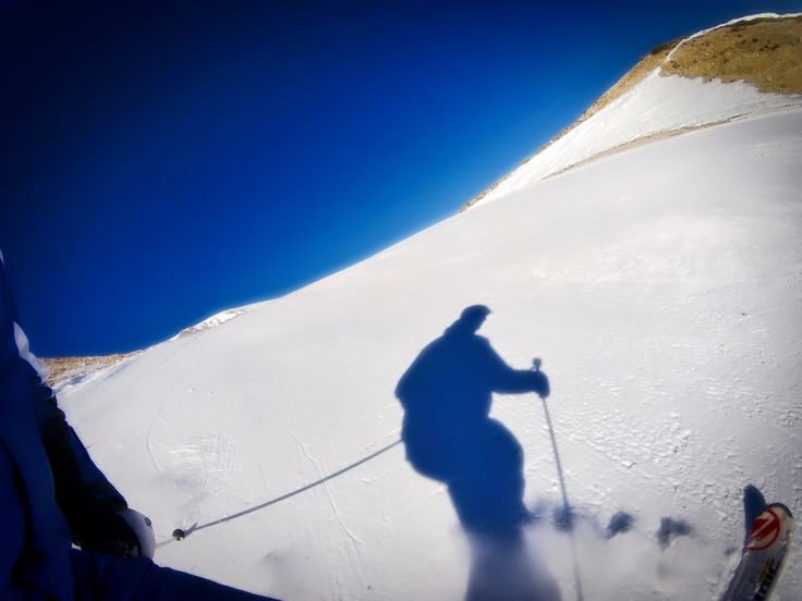 https://flic.kr/p/CPVV7L | skiing shadow
