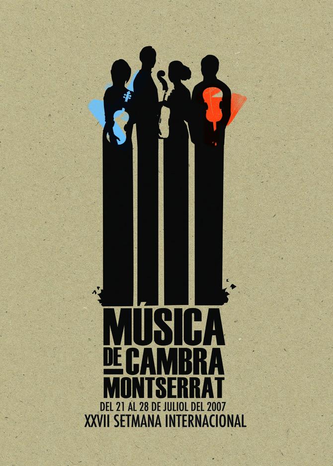 Setmana Internacional Música de Cambra - Casmic Lab / diseño gráfico / graphic design