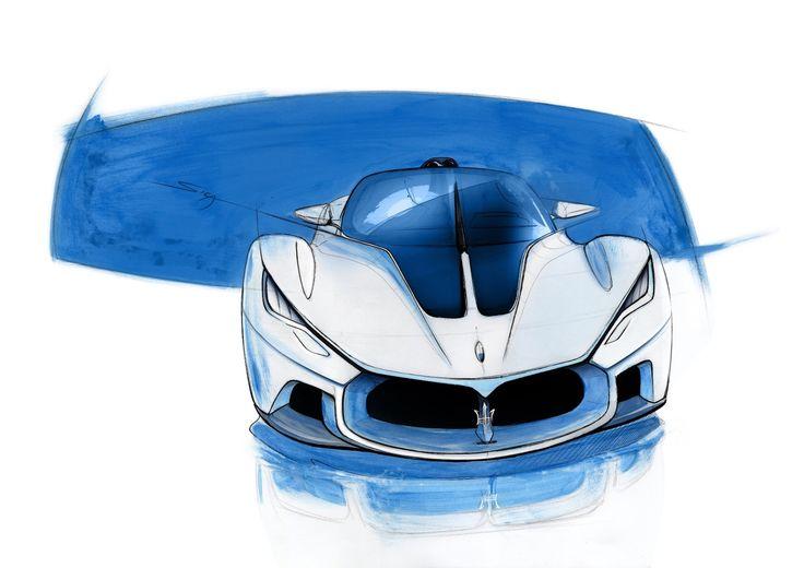 Maserati MC12 concept by Aldo Maria Sica Hypercars (4) » Hypercars