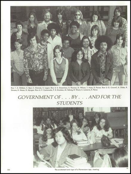 1976 Suitland High School Yearbook via Classmates.com