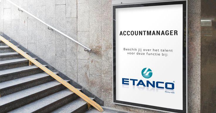 Ben jij de Accountmanager die het klantenbestand van Etanco in de regio Midden- en Noord-Nederland gaat uitbreiden? Bekijk de vacature en solliciteer: https://www.wetalent.nl/recruit/vacatures/etanco-benelux/accountmanager-midden-en-noord-nederland/233/#Vacature #Accountmanager #Etanco