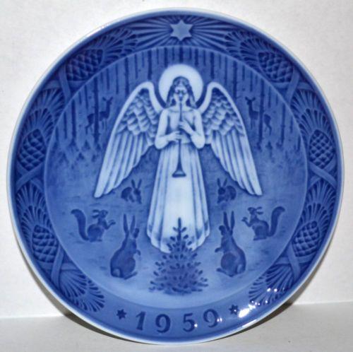 Royal Copenhagen 1959 Christmas Plate | eBay