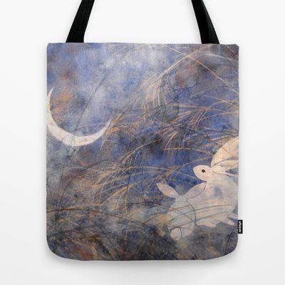 Tsuki-mi Tote Bag by Priscilla Moore - $22.00