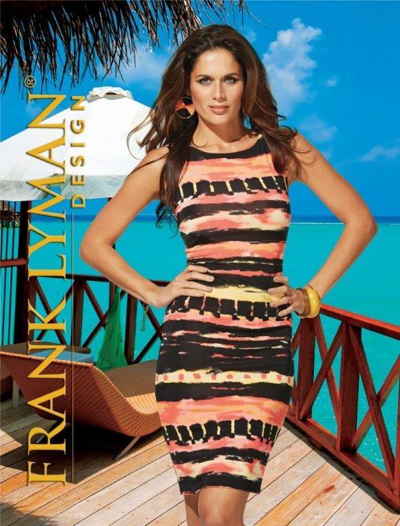Show stopper Frank Lyman dress!