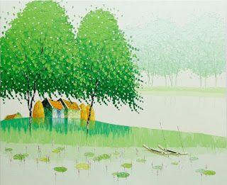 Современные вьетнамские художники. Phan Thu Trang