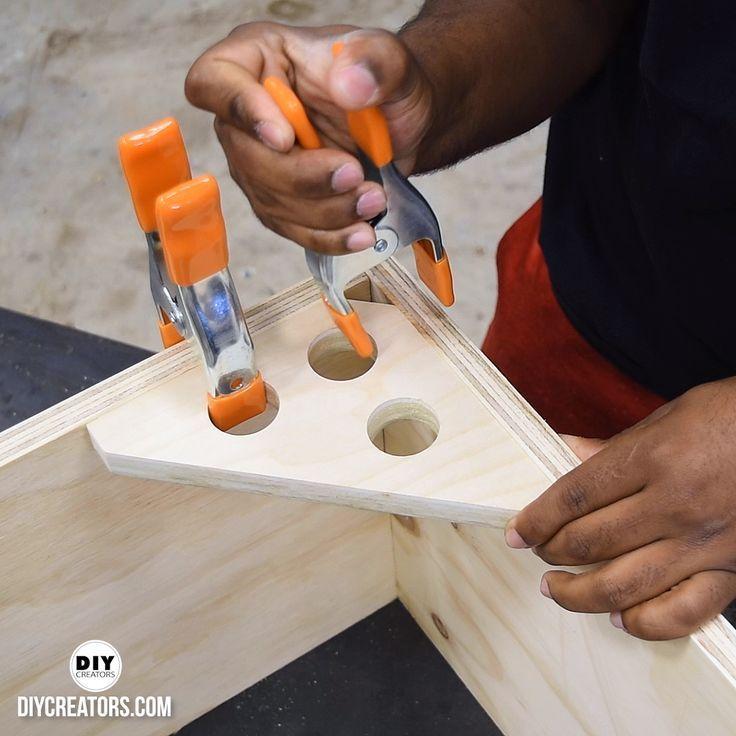 Winkelspannvorrichtung (Tipps und Tricks für die Holzbearbeitung) #Holzbearbeitung