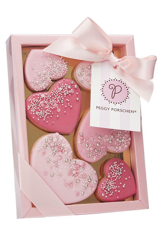Peggy Porschen - Confetti Heart Cookies
