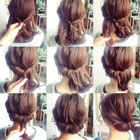 Einfache formale Hochsteckfrisuren für kurze Haare #einfache #formale #haare #h…